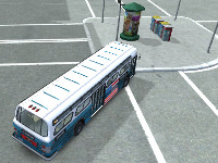 Nová hra American Bus 3D Parking
