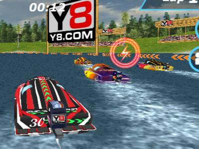Online hra Speedboat Racing