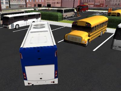 Bus Parking 3D