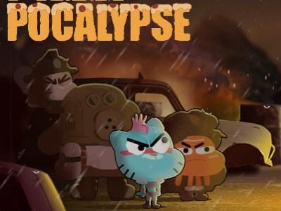Gumball Pizza Pocalypse